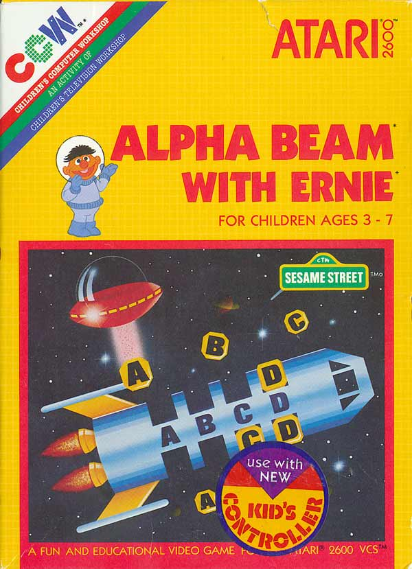 Alpha Beam with Ernie - Box Front