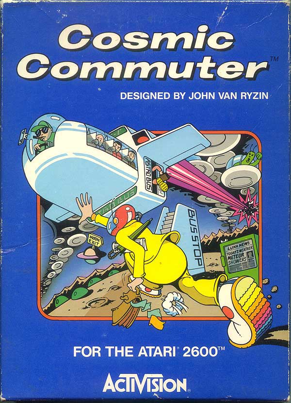 Cosmic Commuter - Box Front