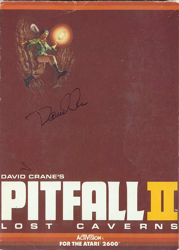 Pitfall II: Lost Caverns - Box Front