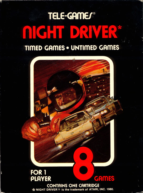 Night Driver - Box Front