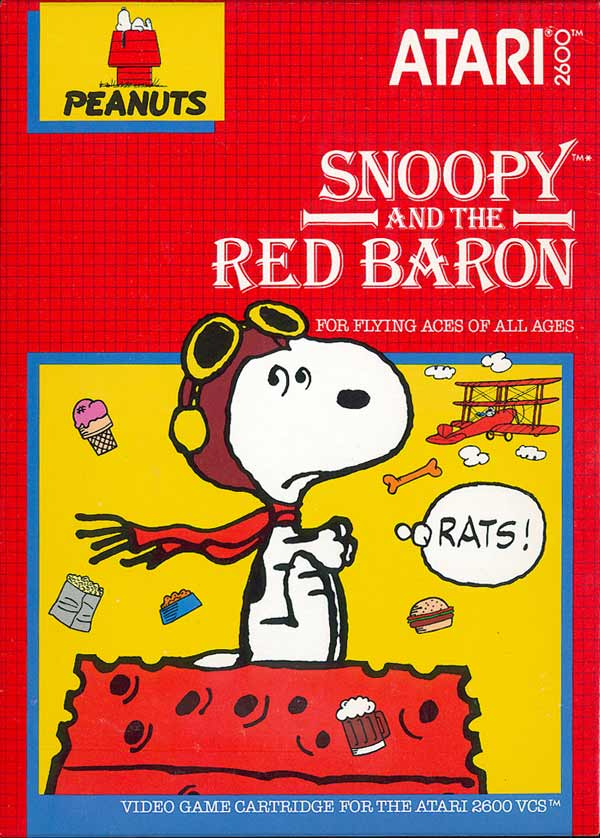 Snoopy and the Red Baron - Box Front