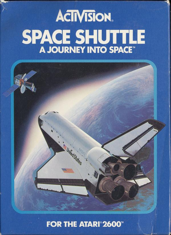 Space Shuttle - Box Front