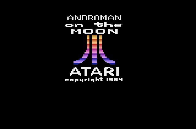 Androman on the Moon - Screenshot