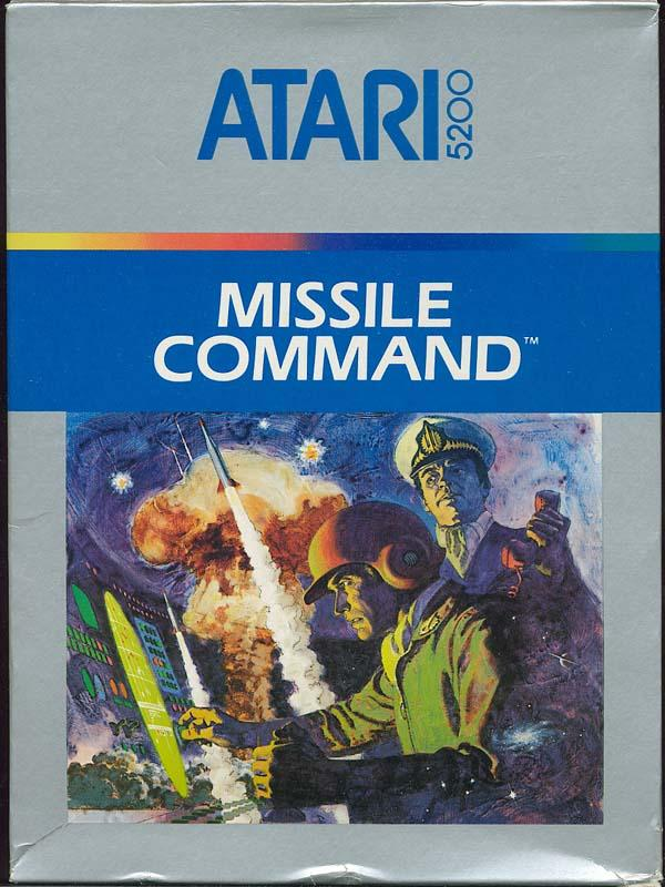 Missile Command - Box Front
