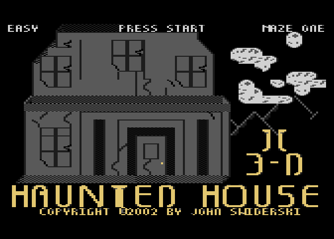 Haunted House II 3-D - Screenshot