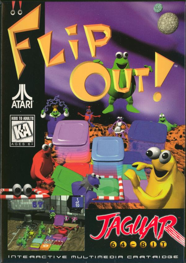 Flip Out - Box Front