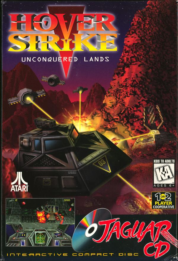 Hover Strike: Unconquered Lands - Box Front