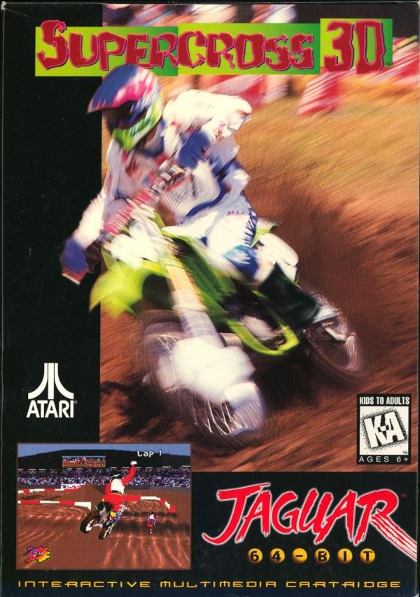 Supercross 3D - Box Front