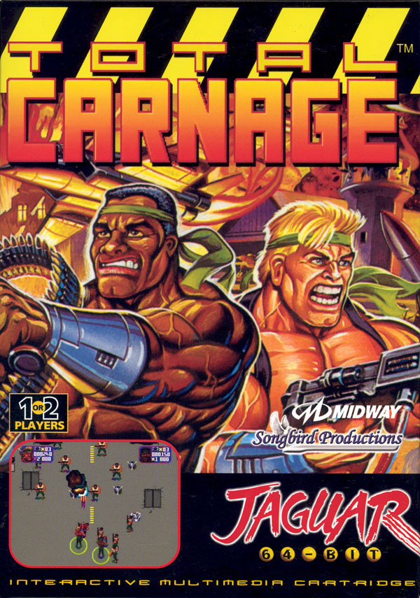 Total Carnage - Box Front
