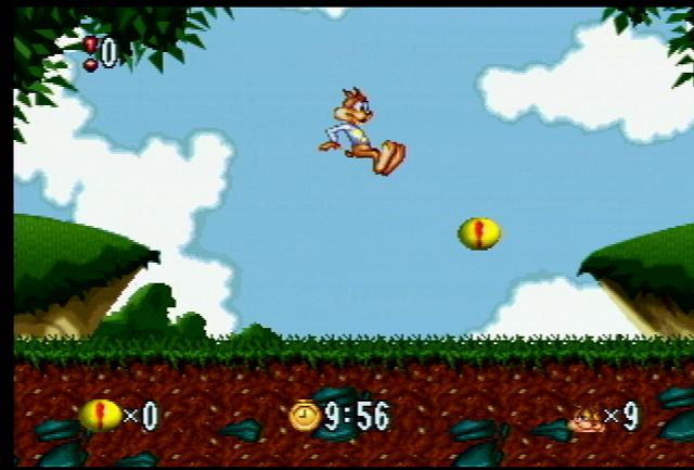 Bubsy: Fractured Furry Tails - Screenshot