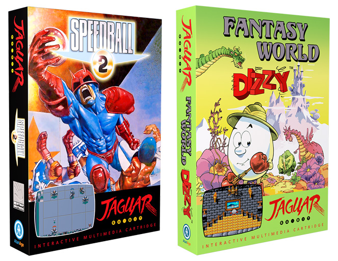 Speedball 2 and Fantasy World Dizzy