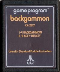 Backgammon - Cartridge