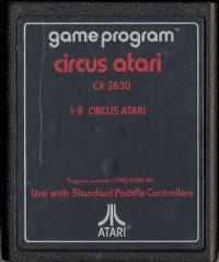 Circus Atari - Cartridge