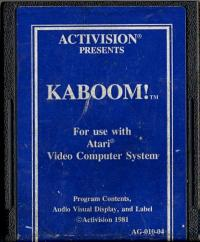 Kaboom! - Cartridge