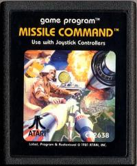Missile Command - Cartridge