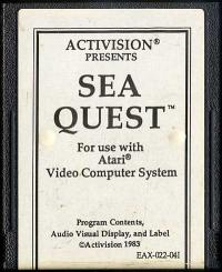 Sea Quest - Cartridge