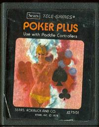 Poker Plus - Cartridge