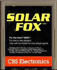 Solar Fox - Cartridge