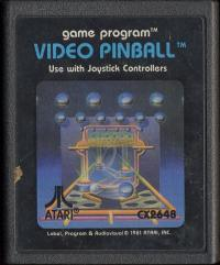 Video Pinball - Cartridge