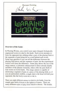 Warring Worms - Manual